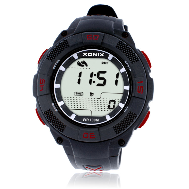 Precision 2018 Men Watches Hot Famous Brand   Pedometer Calorie Counter Male Sport Watch Digital JAP