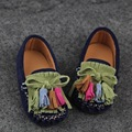 Child Moccasins genuine leather boys shoes female single shoes child casual children leather baby shoes 1 - 3 years old