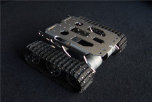 Tank chassis intelligent car crawler chassis crawler vehicle tank vehicle tank robot metal motor rc tank chassis crawler intelligent barrowload remote control kit tractor obstacle caterpillar wall e infrared