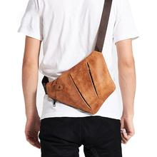 HobbyLane Outdoor Men's Messenger Bag Men's Messenger Bag Leather Shoulder Bag Diagonal Package New Backpack Travel стоимость