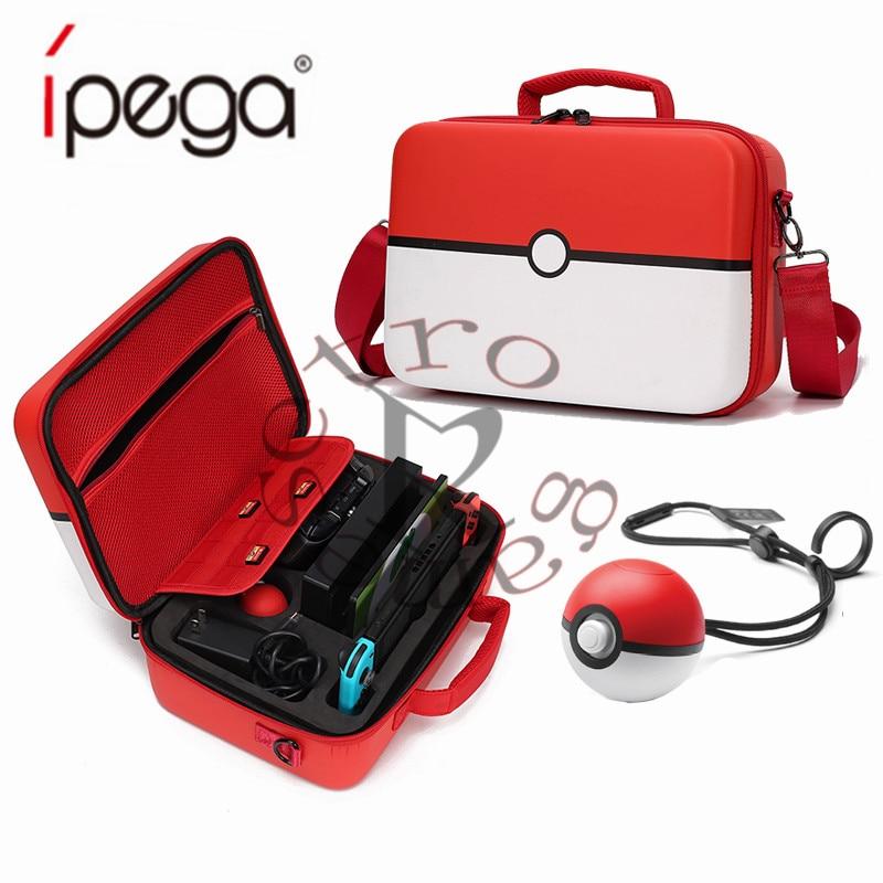 2019 Pokeball Nintend Switch Case Accessories Pokemons Nintendoswitch Storage Big Bag Nintendos Fashion Games Poke Ball Bags New