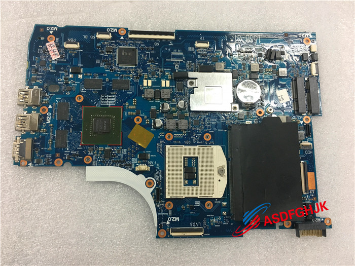 цена Original laptop motherboard for HP Envy TouchSmart 15 15-J 720569-501 720569-001 HM87 gt750M free shipping