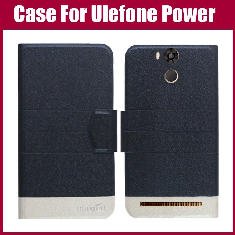 Hot Sale! Ulefone Power Case Ny ankomst 5 färger Fashion Flip - Reservdelar och tillbehör för mobiltelefoner
