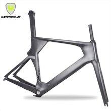 AERO 700x25C углерода велосипед рама карбоновая рама TT t700 углерода велосипед для триатлона рама 49/52/54/56 см Рама/вилка/подседельный штырь