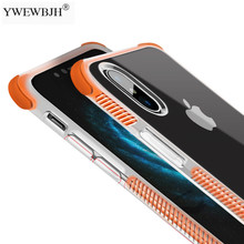 YWEWBJH Case For iPhone X XR XS Max 8 7 Plus 6 6S Shock Proof Four Corners  Soft TPU Back Cover Cases