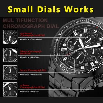 Relogio Masculino Wrist Watches Men 2019 Top Brand Luxury WWOOR Golden Chronograph Men Watches Gold Big Male Wristwatch Man 2019 4