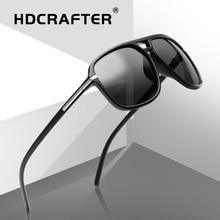 Oversized Sunglasses Men Polarized Mirror Eyewear Driving Sun Glasses For Brand Designer Retro Driver UV400