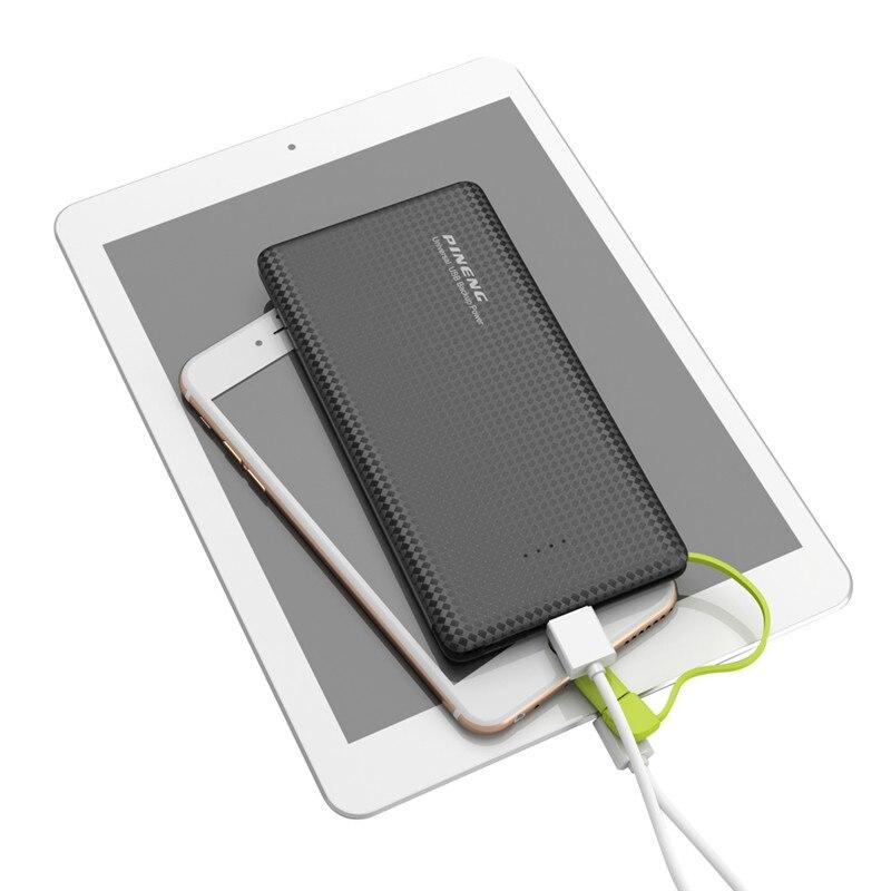 bilder für Neue 10000 mAh Original Pineng Energienbank Li-polymer-akku Tragbare Ladegerät Externe Batterieleistung-bank für iPhone Xiaomi PN951