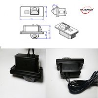 waterproof Wireless car rear view camera backup camera car parking camera For B/MW E39 E46 E90 E53 3Series 5series 7series x6