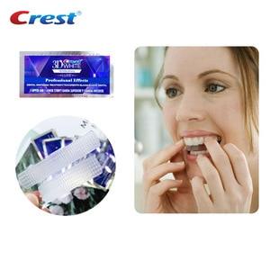 Image 4 - Tiras blanqueadoras para los dientes 3D, blanco Original nivel de efectos profesionales Blanqueamiento Dental Cuidado Oral 5 uds tiras de blanqueamiento de dientes de carbón como regalo