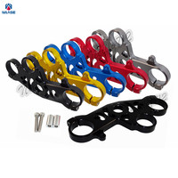 waase 5VY 23435 10 00 5VY 23435 11 00 Front Fork Lowering Triple Tree Upper Top Clamp Yoke For 2004 2005 2006 YAMAHA YZF R1
