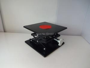 Laboratoire Jack laboratoire Support vérins 250x250x380mm acier peinture Table élévatrice plate-forme élévatrice