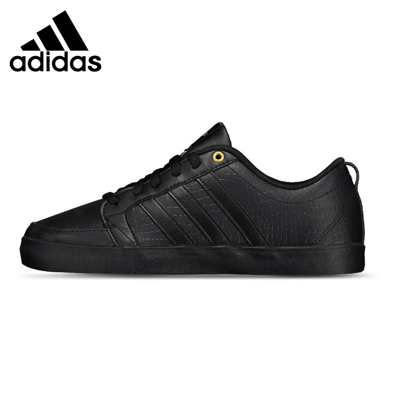 Original New Arrival  Adidas NEO  Women's Black/White  Skateboarding Shoes Sneakers цена и фото
