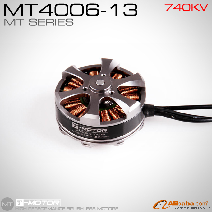 RC Engine T-MOTOR MT4006 KV740 outrunner brushless motor for quad/hexa/octa copter t motor tiger disk brushless motor m3506 650kv for multirotor quad hexa octacopter