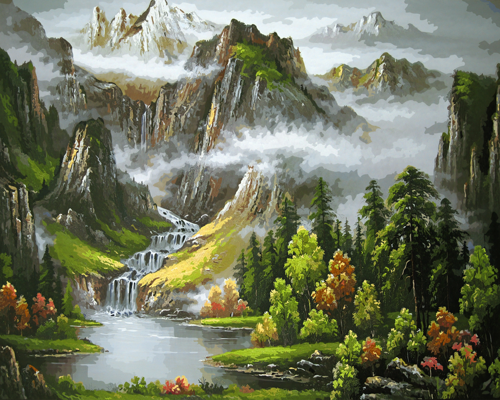 natue in chinese landscape painting Landscape painting, also known as landscape art the attempt to express the special nature of the landscape of the homeland chinese landscape painting at.