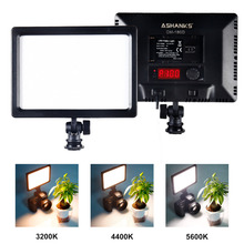 ASHANKS 12W On Camera Led Video Light & 112 LED Bulbs Pad Panel Light 3200/5600k for Canon Nikon Sony Panasonic DSLR Camera Lamp