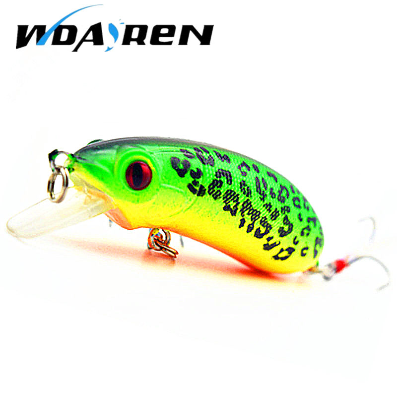 WDAIREN 1pcs 10g/6cm Poppers Fishing lure top water pesca fish lures wobbler isca artificial hard bait Topwater swimbait FA-351 1pcs swim fish top water wobbler fishing