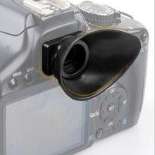 18mm kauçuk göz farı mercek Eyecup Canon 550D/300D/350D/400D/60D/600D /500D/450D/1000D/D30 SLR kamera aksesuarları
