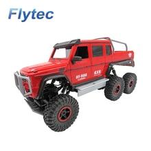 Flytec 699 1:12 2.4 г 6WD альпинист RC автомобиль Wrangler Дизайн рок защитник Карро де Controle Remoto с светодиодный свет как подарок для детей