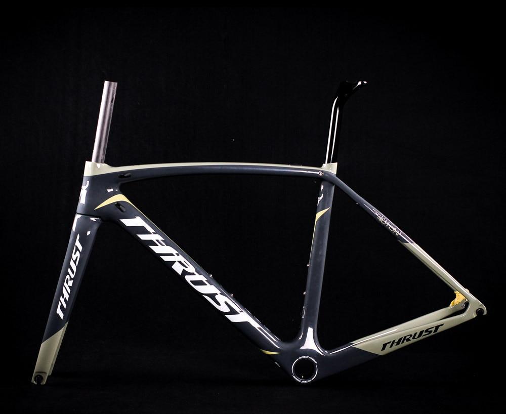 2019 thrust T1000 UD Full carbon road bike bicycle frame fork seatpost Aero racing bike frame