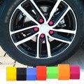 DWCX 20 pcs 19mm Silicone Hexagonsal Lug Porca Parafuso Da Roda de Carro Capa Protetora Válvula do pneu Tampa de Rosca para Mazda 3 BMW E46 E90 Audi A4