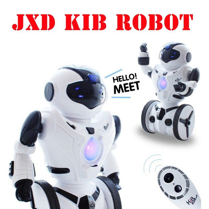 цены JXD 1016a KiB Remote Control RC Robot Intelligent Balance Wheelbarrow Dance Drive Box Gesture Battle Action Electric Toy Gift