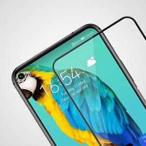 Image 3 - Temperli cam için Huawei Honor 20 30 Pro 20S 30S Nova 5T Nillkin CP + Pro tam tutkal ekran koruyucu Huawei Honor 20 cam