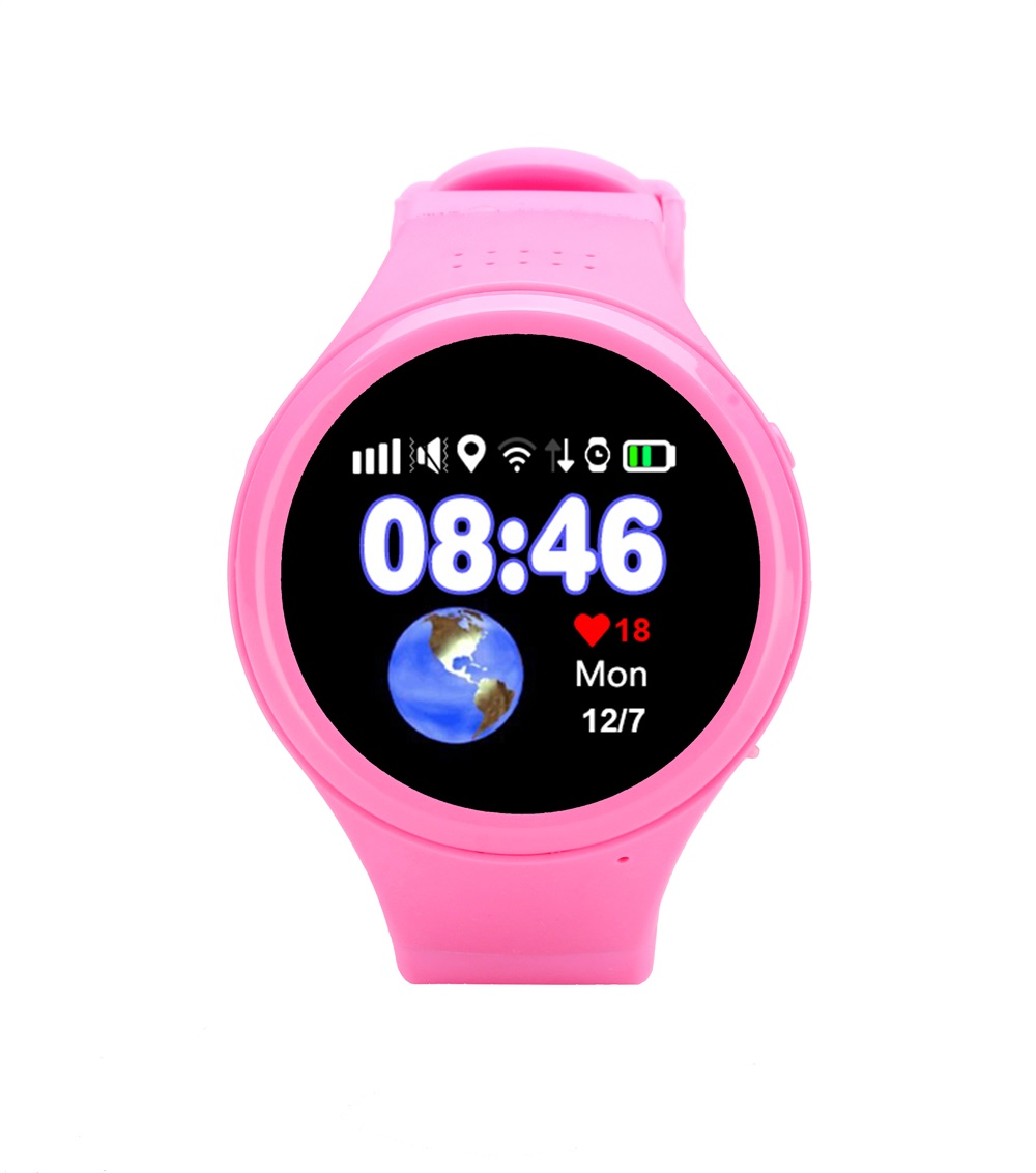 New Child Smart Watch T88 With GPS Global Positioning Baby Watchs Kid Safe Anti-Lost Monitor SOS Call Location Device Tracker детские часы с gps smart baby watch t58 цвет серебро