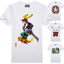 3D Effect Pokemon Go Cool Novelty Printed Fashion Top Tee