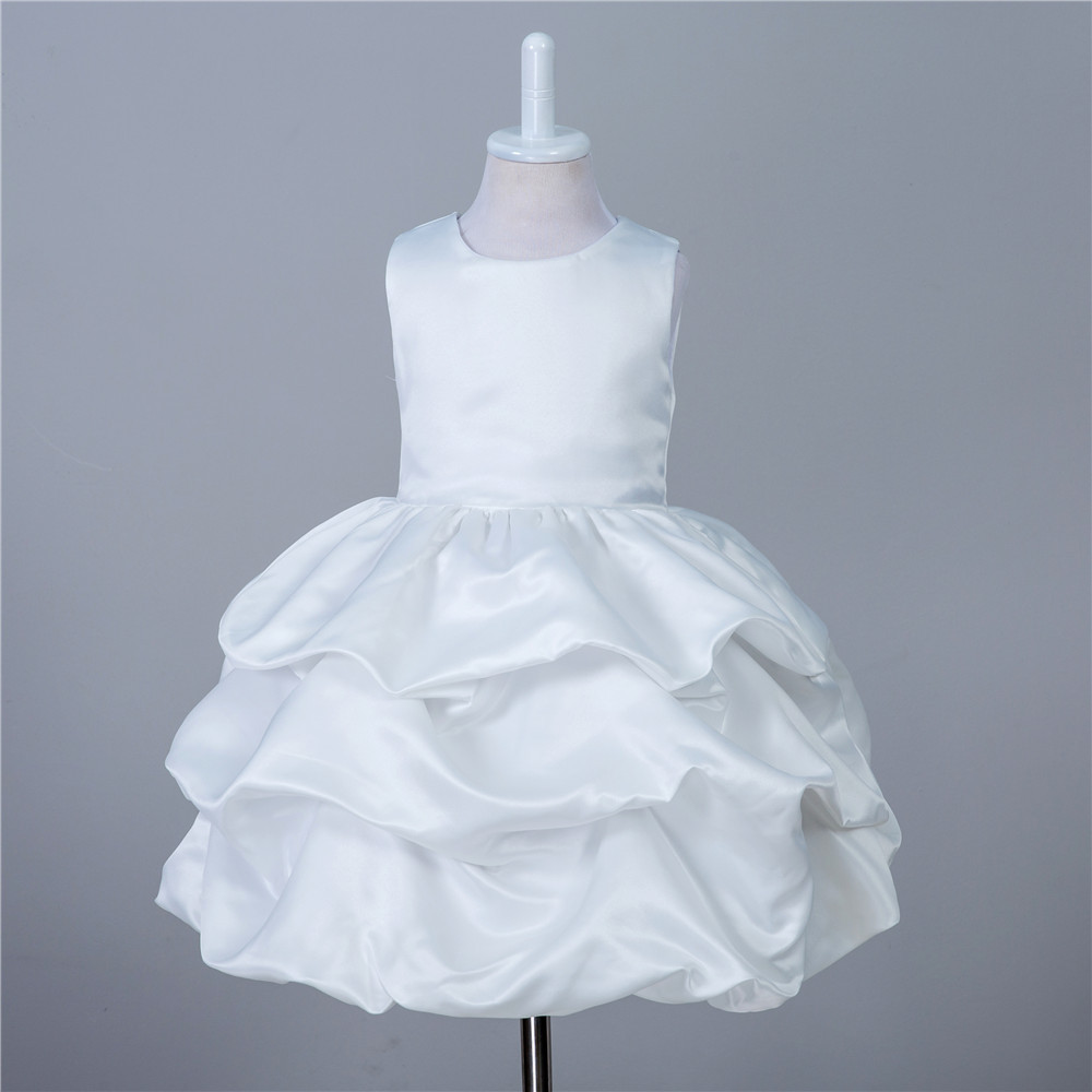 Ivory Tulle Off Flower Girl Dress Off White Clothes Evening Gown