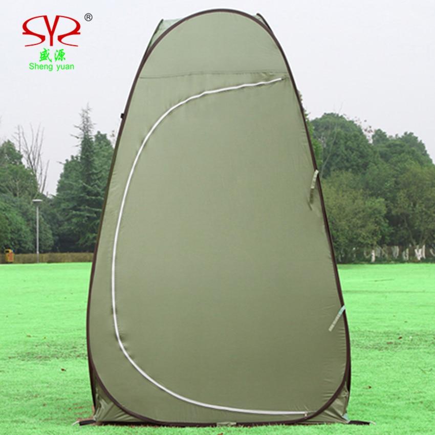 tendë portative kampe tualet kampe ndryshueshme portative tendë - Kampimi dhe shëtitjet - Foto 3