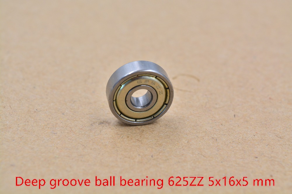 5mm bearing F625ZZ 625-2RS 625ZZ 5mmx16mmx5mm miniature double sealing cover deep groove ball bearing 1pcs 2016 new 624vv v groove sealed ball bearings vgroove 4x13x6mm 1 7mm deep sealing cover deep groove ball bearing
