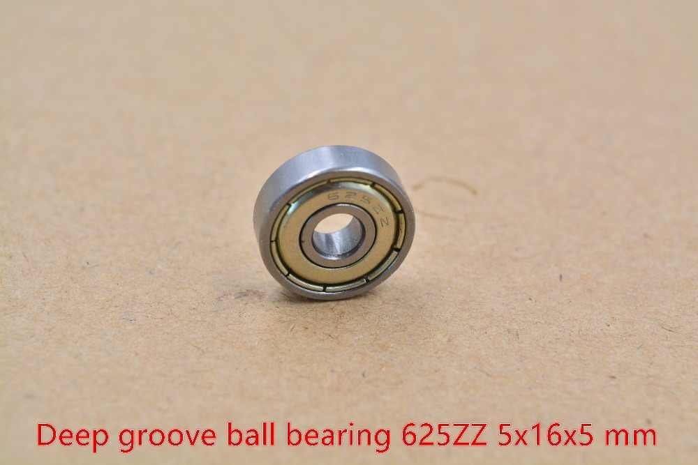 5mm lager F625ZZ 625-2RS 625ZZ 5mm x 16mm x 5mm miniatur doppel abdichtung abdeckung tiefe nut ball 1 stücke
