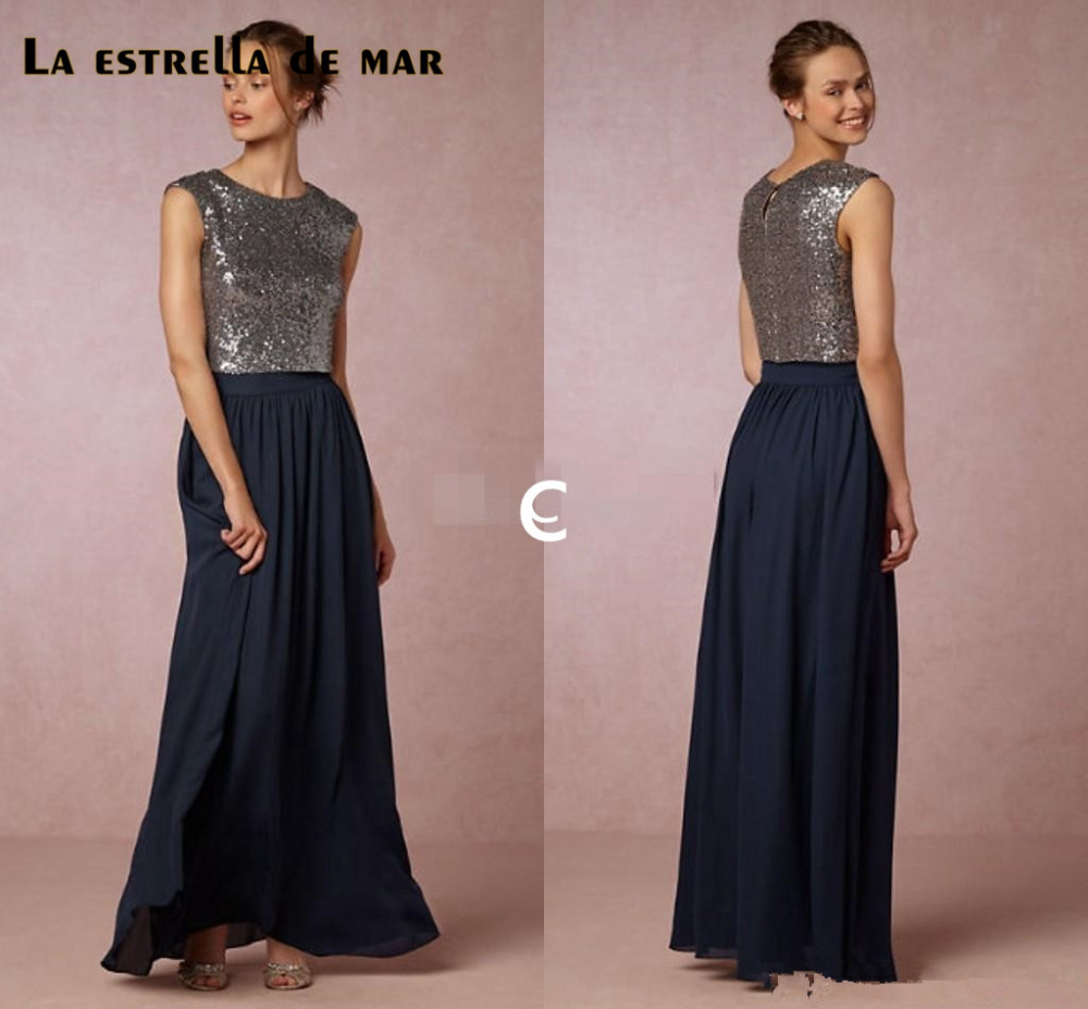Vestidos de madrinha2017 new sequins sexy 2 piece blush navy blue vestidos de madrinha2017 new sequins sexy 2 piece blush navy blue rose gold bridesmaid dresses long wedding guests dress in bridesmaid dresses from weddings ombrellifo Image collections