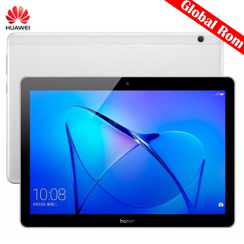 Tablettes d'origine 9.6 pouces Huawei MediaPad T3 10 AGS-W09 tablette PC 2 GB 16 GB EMUI 5.1 Qualcomm SnapDragon 425 Quad Core 4x1.4 GHz