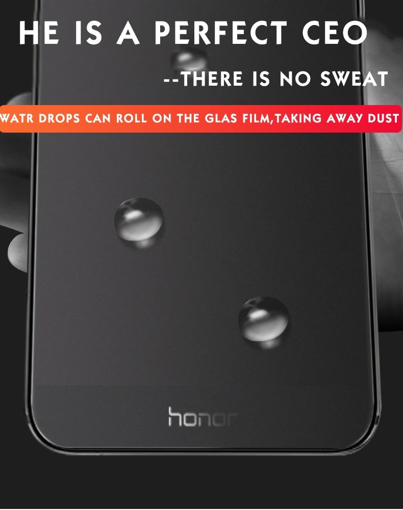 Matowy ochraniacz ekranu dla Huawei honor 9 lite szkło hartowane dla honor 9 lite 10 folia ochronna szkło na honor 9 lite IIRROONN 4