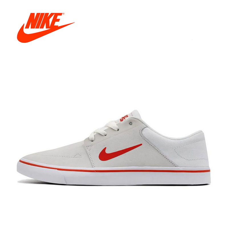 Original New Arrival Official NIKE SB PORTMORE Women's Breathable Skateboarding Shoes Sports Sneakers nike original new arrival mens skateboarding shoes breathable comfortable for men 902807 001
