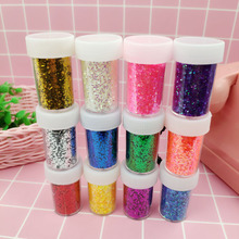 Toys Modeling-Clay Slime-Box Clear/fluffy Kit-Accessories Charms Sequin/glitter-Filler