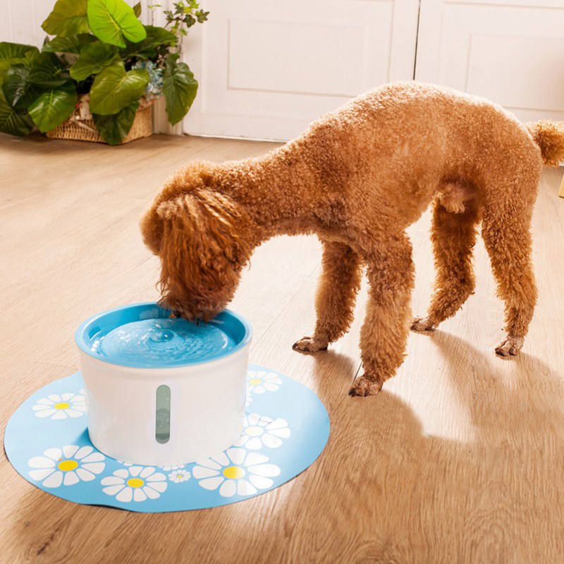Pet Cats Dogs Automatic Water Feeder Electric Drinking Fountain Bowl Water Dispenser Drink