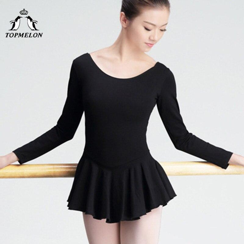 topmelon-black-font-b-ballet-b-font-dress-adult-short-dresses-for-dancing-long-sleeve-leotards-tights-for-women-cotton-dance-wear