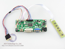 Free Shipping M.NT68676.2A DVI VGA HDMI LCD Controller Board DIY Kit for LP156WF1-TLC1 LED 15.6 inch 1920×1080 LVDS
