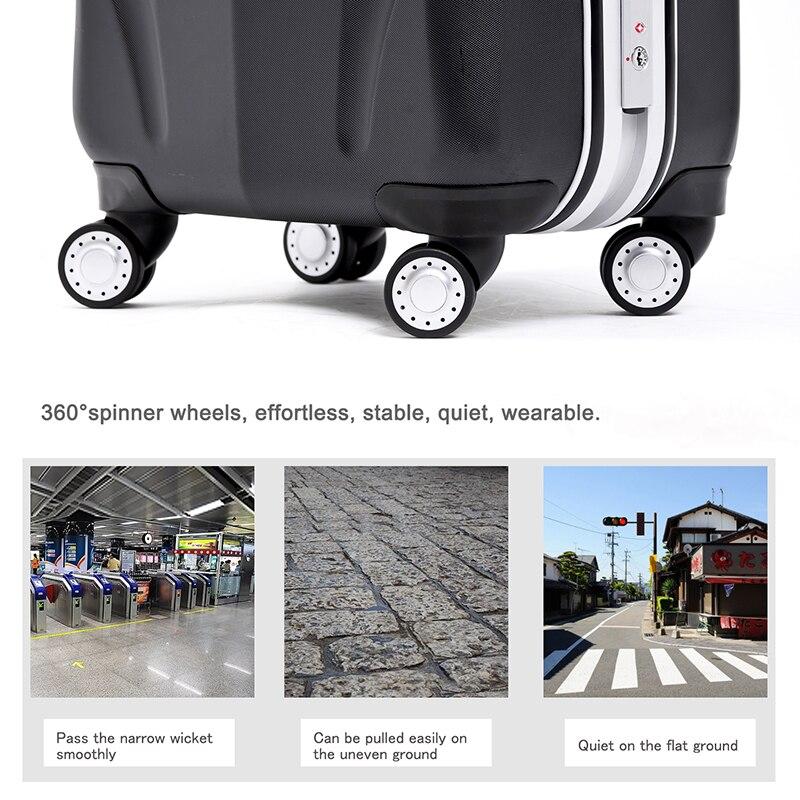 Marco de aluminio + PC maleta, 20 \