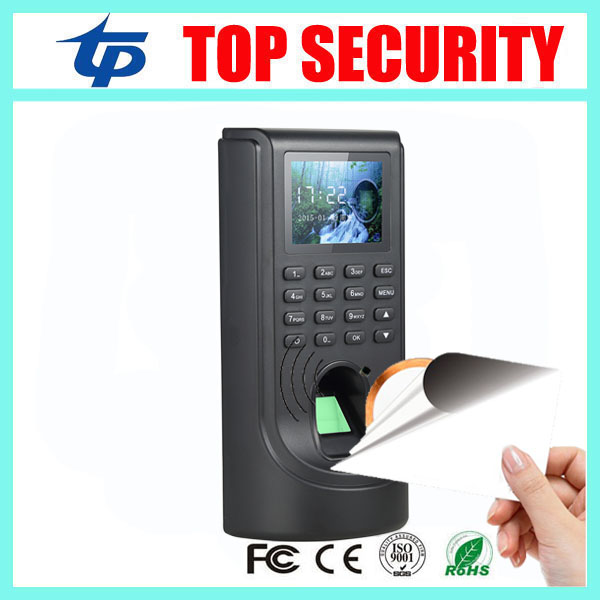 F805 fingerprint access control system door access control with MF card reader access controller with time attendance function biometric fingerprint access controller tcp ip fingerprint door access control reader