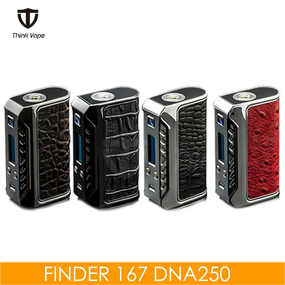 Original ThinkVape Finder 167 Box Mod Evolv DNA250 Chip TC/VW Firmware Upgraded Electronic Cigarette Mod VS Therion 166 Vape