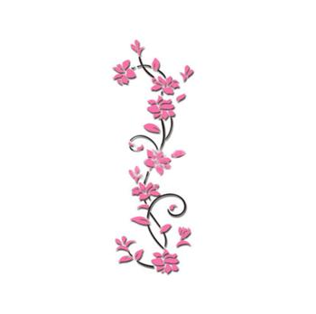 3D flower Wall Stickers for kids rooms decals Living Room Bedroom TV Background Home decor 9