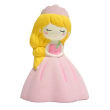 Squishyies dos desenhos animados casamento menina adorável princesa scented lento aumento espremer estresse reliever brinquedo brinquedos squeever z04