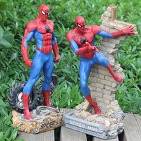 New Avengers toys The Avengers Cartoon Figures PVC Model Spider man Action Toys Super Hero Toys Creative Gifts For Children L445