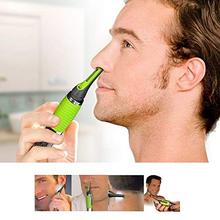 Stainless Steel Blade Battery Operated Nose Ear Neck Eyebrow Hair Remover Electr