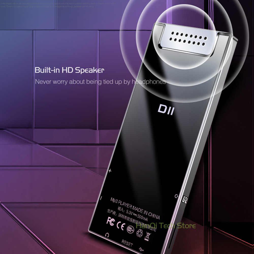 Новый оригинальный RUIZU D11 Bluetooth MP3 плеер Музыкальный плеер 8 Гб металлический музыкальный проигрыватель с Встроенный динамик fm-радио Поддержка TF карты