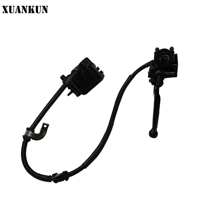 XUANKUN Motorcycle LF150-10B / KP150 Front Hydraulic Brake Assembly starpad for lifan motorcycle lf150 10s kpr150 new front brake discs accessories